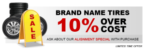 10 Percent over cost sale